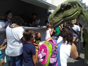 Dinossauros Saem à Rua atrai milhares de pessoas à Lourinhã
