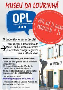 Museu da Lourinhã concorre ao Orçamento Participativo da Lourinhã