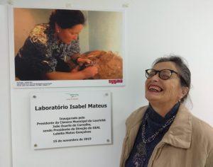 Inaugurado o Laboratório Isabel Mateus