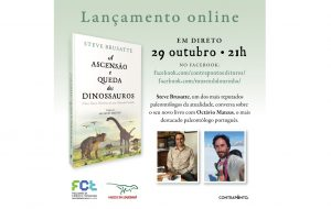 """Lançamento online do livro """"A Ascensão e Queda dos Dinossauros"""""""